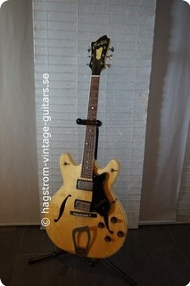 Hagstrom Viking In 1975 Blond / Natur Birch