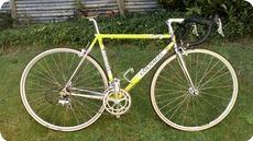 Colnago Italy Tecnos 1990 Yellow Soft Paint
