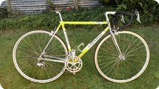 Colnago Italy Tecnos 1990 Yellow Soft Paint