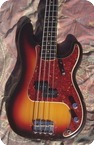 Fender-Precision Bass-1964-Sunburst