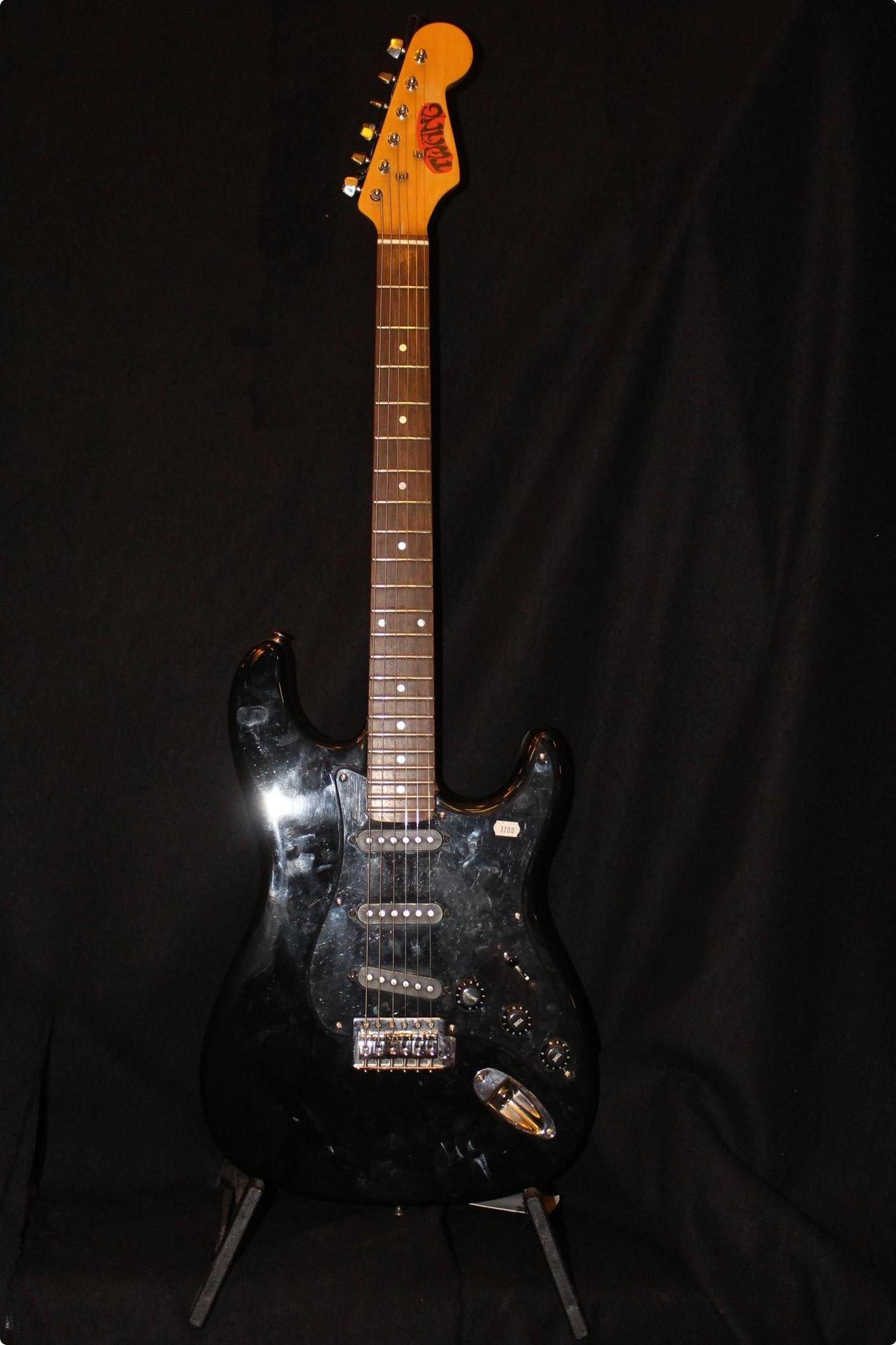 Parts Guitar Strat 1990s Black For Sale Twang Of The Electric