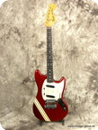 Fender Mustang Competition 1973 Candy Apple Red