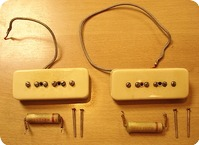Gibson Les Paul Goldtop Pickups 1952 Creme
