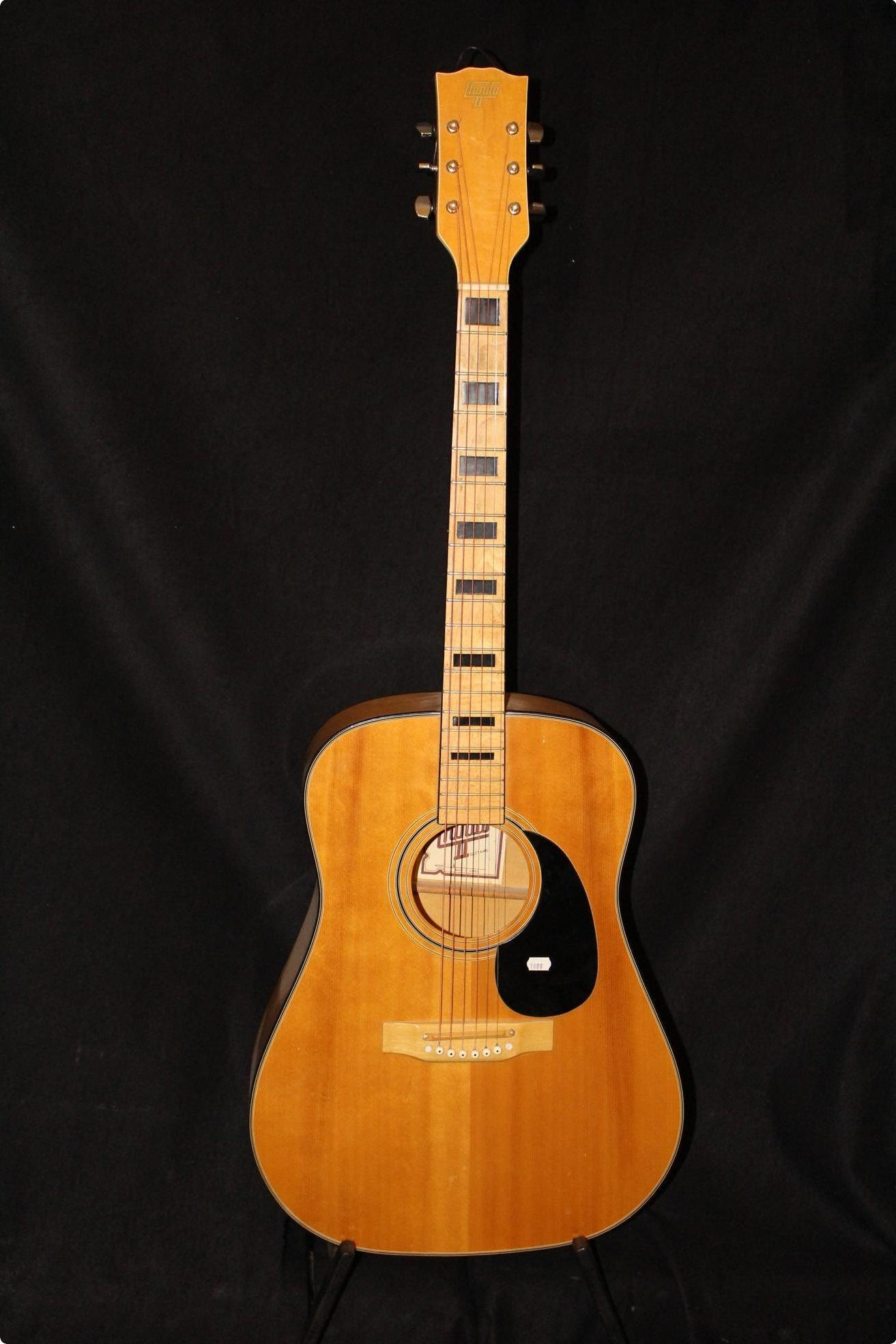 Hondo II FJ260A 1990s Natural Guitar For Sale Twang