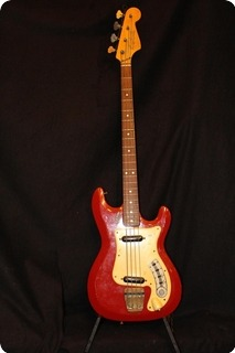 Hagstrom Bass Ii 1964 Red