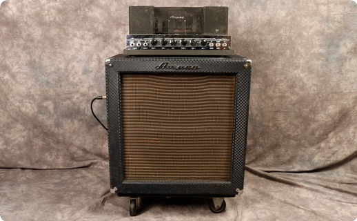 Ampeg B15 Nf 1966 Blue Checked Tolex