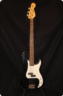 Williams Precision/parts Guitar Black