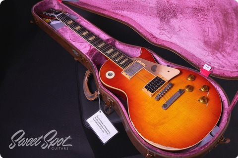Gibson Les Paul Slash First Standard True Historic 1958 Custom Shop 2017 Sunburst