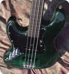 Fender Jazz Bass Lefty Fretless 1977 Green