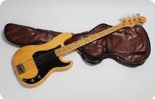 Greco Precision Bass PB 600 1979 Natural