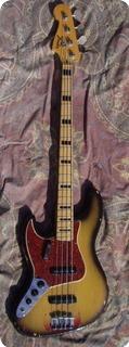 Fender Jazz Bass Lefty 1972 Sunburst