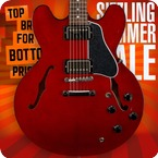 Gibson ES 335 2018 Wine Red