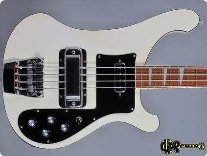 Rickenbacker 4001 1978 Tuxedo White