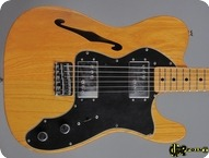 Fender Telecaster Thinline II 1975 Natural