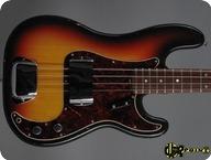 Fender Precision P Bass 1968 3 tone Sunburst