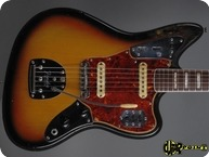Fender Jaguar 1968 3 tone Sunburst