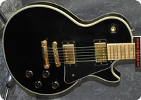 Gibson Les Paul Custom Maple Fb Neck 1978 Black