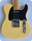 Fender 52 Telecaster Custom Shop Relic 2013 Blonde