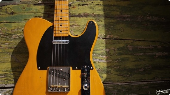 Fender Vintage 80s Telecaster 1984 Butterscotch Blonde Nitro Cellulos