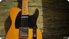 Fender Vintage 80s Telecaster 1984 Butterscotch Blonde Nitro Cellulos