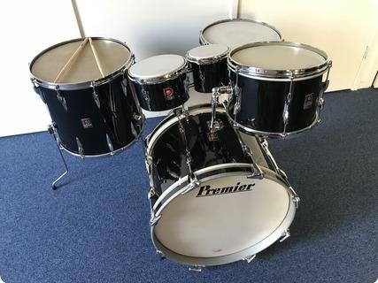 premier drums premier 202 1960 piano black drum for sale purple chord. Black Bedroom Furniture Sets. Home Design Ideas