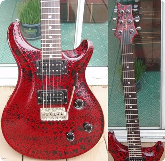 Prs Paul Reed Smith Special The Rarest 1988 Red Crackle