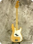 Fender Precision Bass Natural