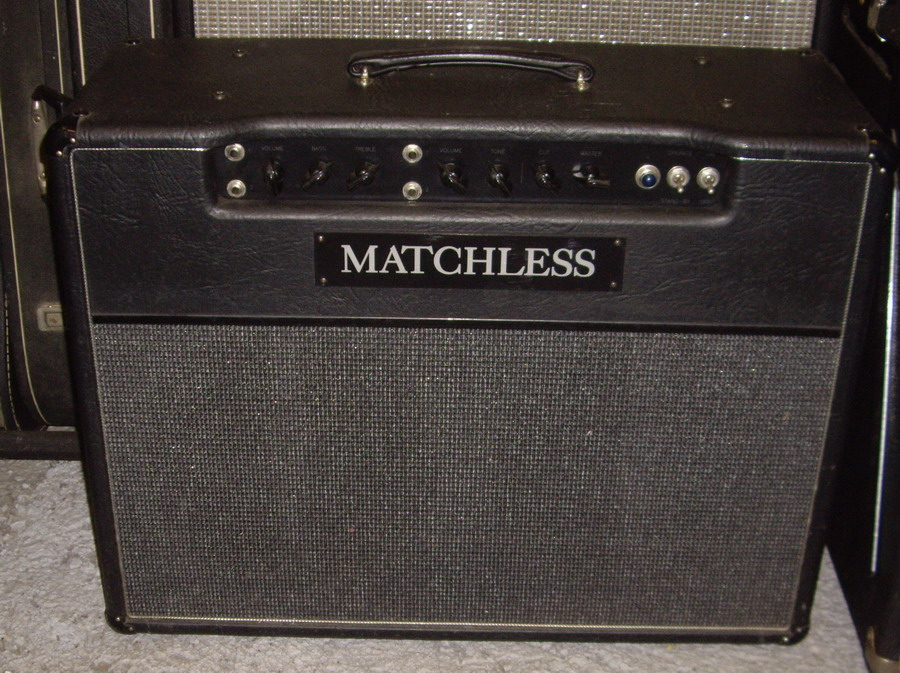 MATCHLESS DC30 DC 30 1990 Black Tolex Amp For Sale Hendrix