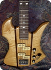 B.c. Rich Mockingbird Bass 1982 Natural Flam
