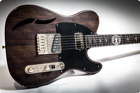 Mithans Guitars T Roots 2018 Natural Wenge Brown