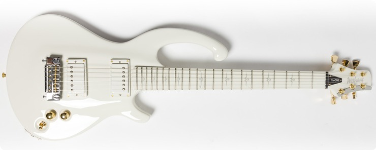 Mithans Guitars Theone 2017 White