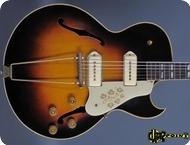 Gibson ES 295 Ex. Eric Clapton 1953 Sunburst