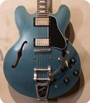 Gibson ES 335 Anchor Stud Bigsby VOS Antique Pelham Blue