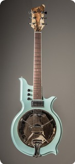Arrenbie Guitars Arrenbie Resocaster Seafoam Green