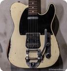 Fender Custom Telecaster CS Yuriy Shishkov Masterbuilt Olympic White Relic