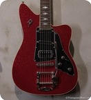 Duesenberg Paloma Red Sparkle