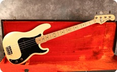 Fender Precision 1976 Olympic White