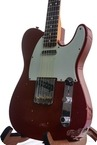 Fender Custom Shop 63 Tele Journeyman Relic Cinnamon Red Mint 2016