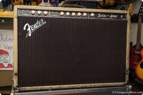 Fender Twin Amp 1962 Blond