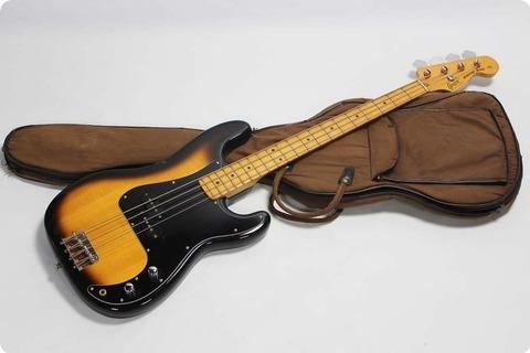 Greco Precision Bass Pb 500 1979 Tobacco Sunburst