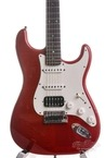 Fender Custom Shop Custom DLX Stratocaster Candy Red Flame 2011