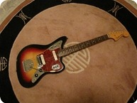 Fender Jaguar 1964 Sunburst 3 Tone