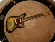Fender Jaguar 1966 Sunburst 3 Tone