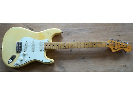Fender Stratocaster Usa 1975   One Owner! 1975 Olympic White