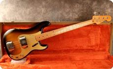 Fender Vintage 57 Precision 1982 2 Tone Sunburst