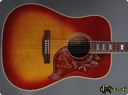 Gibson Hummingbird 1972 Cherry Sunburst
