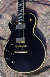 Gibson Les Paul Custom Lefty 20° Ann 1974 Black