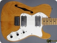 Fender Thinline II 1974 Natural