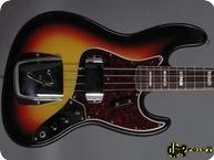 Fender Jazz Bass 1966 3 tone Sunburst
