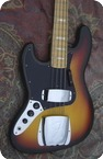 Fender Jazz Bass Lefty Left 1977 Sunburst
